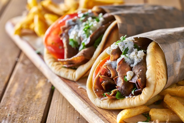 Pitamu, a vibrant Greek street food stall ,is due to open inside the new look Southport Market
