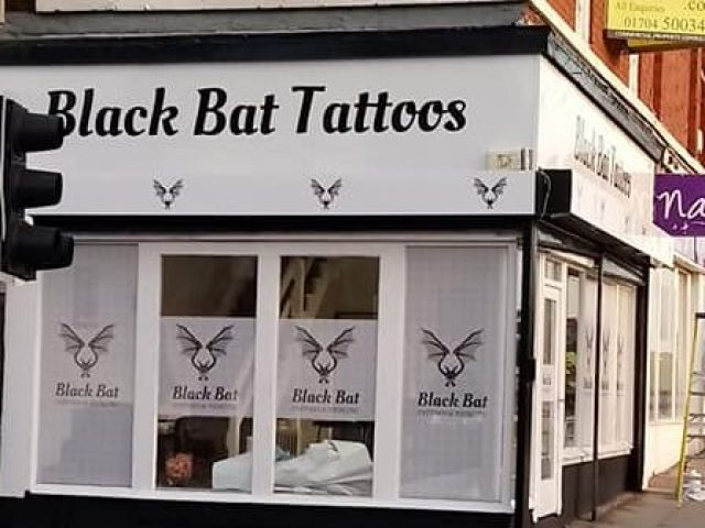 Black Bat Tattoos