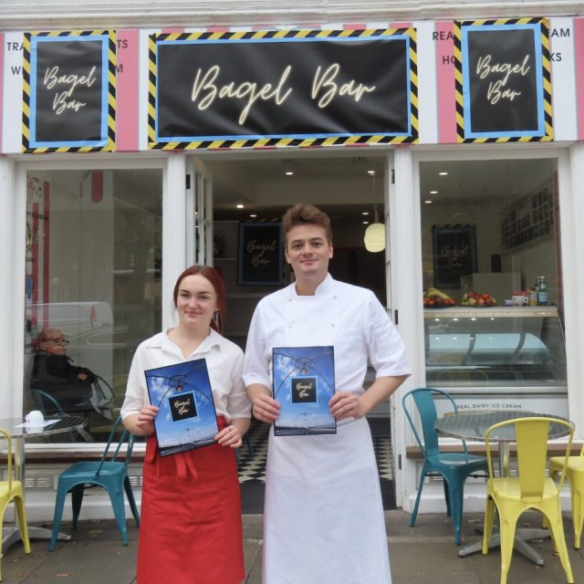 Savoy Hotel trained chef opens the Bagel Bar on Lord Street in Southport