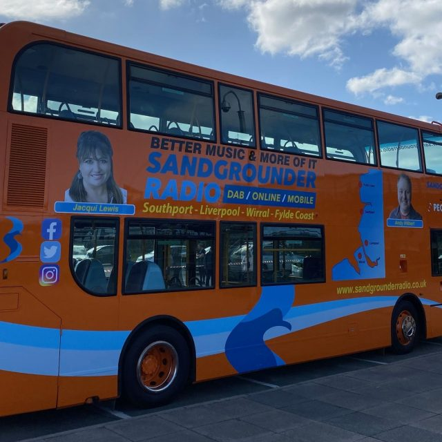 Sandgrounder Radio unveils new 'Sandgrounder Shuttle' in partnership with Peoples Bus