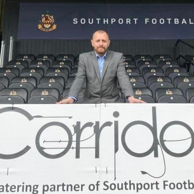 Corridor signs new hospitality partnership with Southport FC