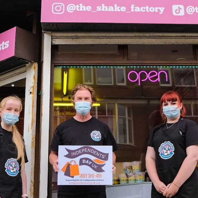 Independents Day: Family run business The Shake Factory opens in Southport