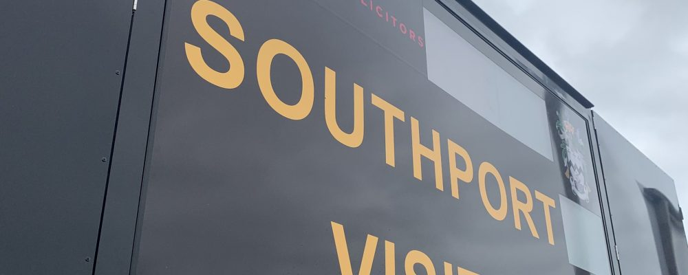 Fletchers Solicitors provides new digital scoreboard for Southport Rugby Football Club